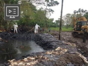 Control y Manejo de Derrames de Hidrocarburos en Tierra y Pequeños Ríos