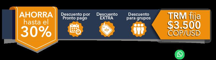 Banner Asesor Descuentos Sectores GLP - Seguridad y Riesgos