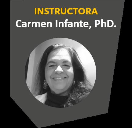 Instructora Carmen Infante