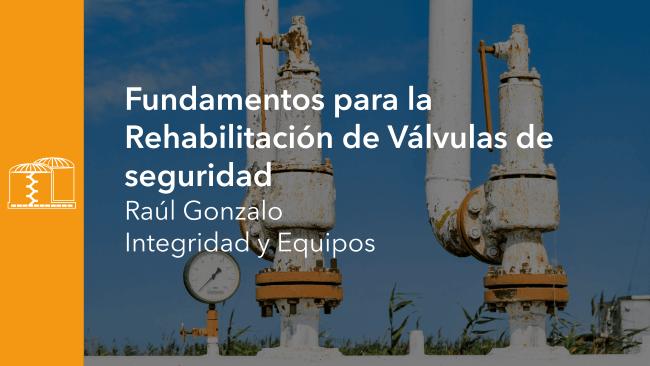 Fundamentos para la Rehabilitación de Válvulas de seguridad